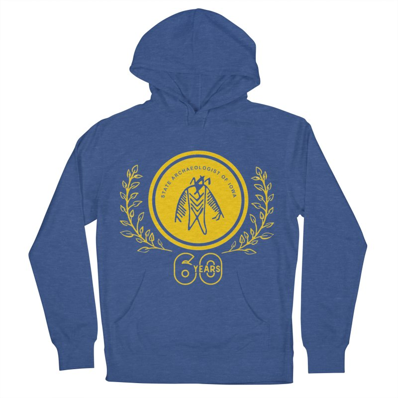 OSA 60th Anniversary Men's French Terry Pullover Hoody by Iowa Archaeology Gifts, Prints, & Apparel