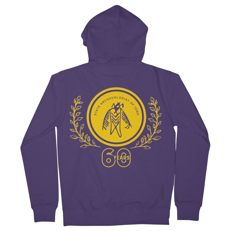 OSA 60th Anniversary Women's Zip-Up Hoody by Iowa Archaeology Gifts, Prints, & Apparel