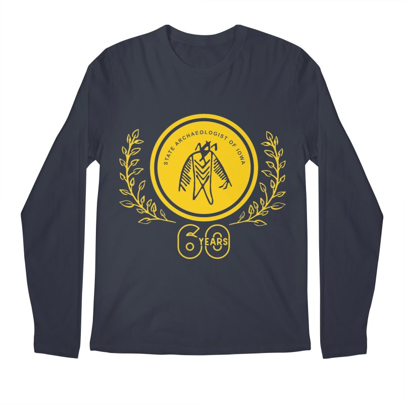 OSA 60th Anniversary Men's Regular Longsleeve T-Shirt by Iowa Archaeology Gifts, Prints, & Apparel