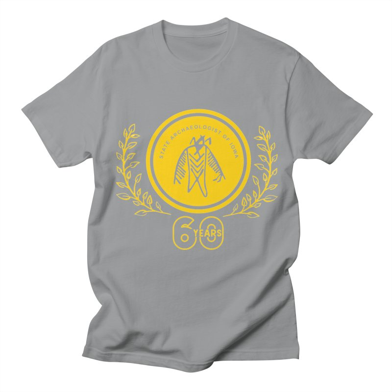 OSA 60th Anniversary Men's Regular T-Shirt by Iowa Archaeology Gifts, Prints, & Apparel