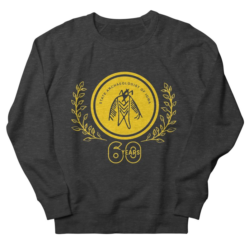OSA 60th Anniversary Women's French Terry Sweatshirt by Iowa Archaeology Gifts, Prints, & Apparel