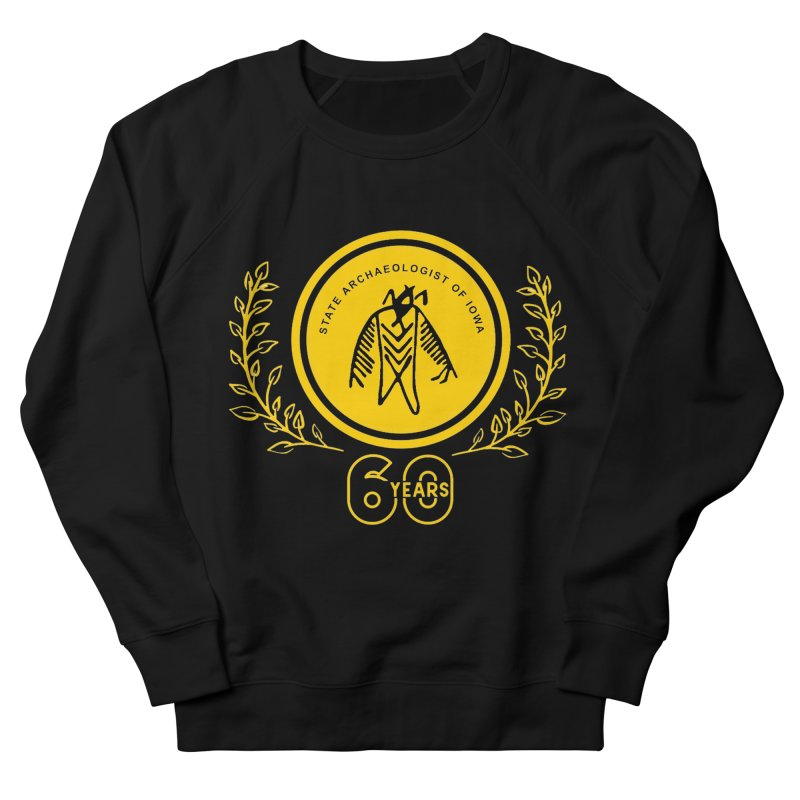 OSA 60th Anniversary Men's French Terry Sweatshirt by Iowa Archaeology Gifts, Prints, & Apparel