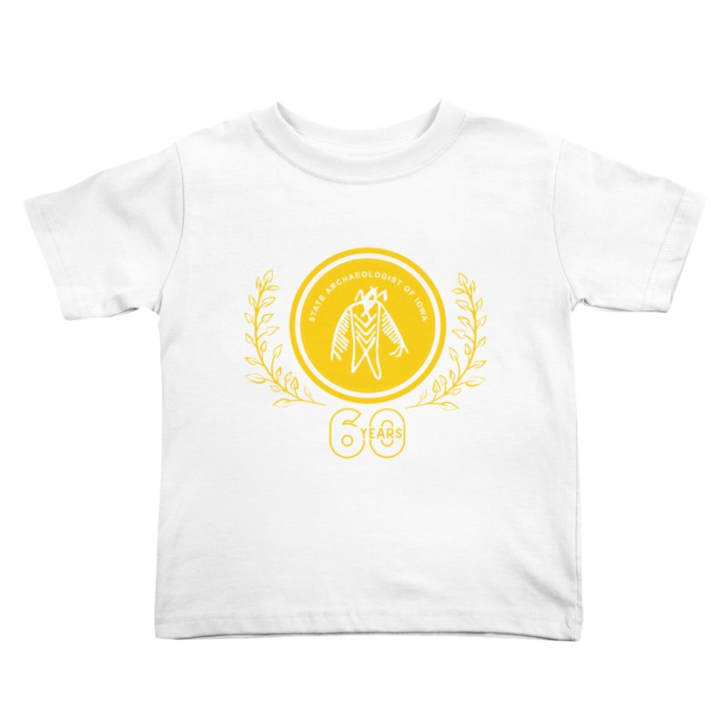 OSA 60th Anniversary Kids Toddler T-Shirt by Iowa Archaeology Gifts, Prints, & Apparel