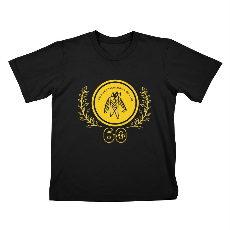OSA 60th Anniversary Kids T-Shirt by Iowa Archaeology Gifts, Prints, & Apparel