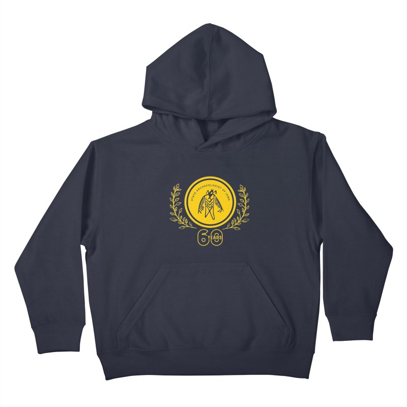 OSA 60th Anniversary Kids Pullover Hoody by Iowa Archaeology Gifts, Prints, & Apparel