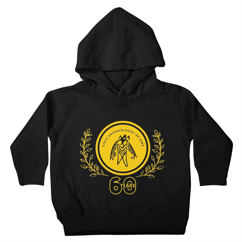 OSA 60th Anniversary Kids Toddler Pullover Hoody by Iowa Archaeology Gifts, Prints, & Apparel