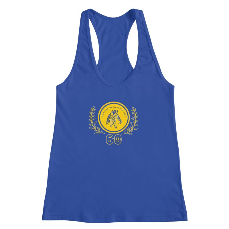 OSA 60th Anniversary Women's Racerback Tank by Iowa Archaeology Gifts, Prints, & Apparel