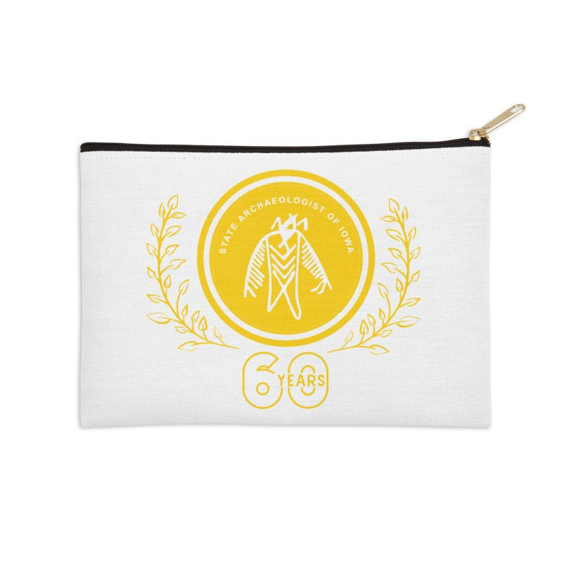 OSA 60th Anniversary Accessories Zip Pouch by Iowa Archaeology Gifts, Prints, & Apparel