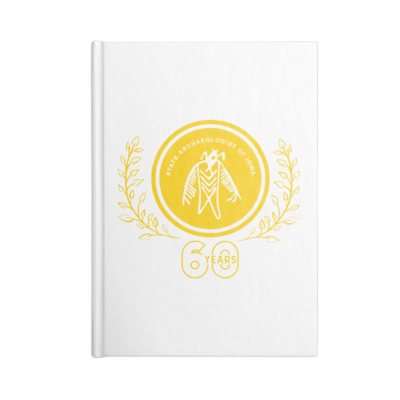 OSA 60th Anniversary Accessories Blank Journal Notebook by Iowa Archaeology Gifts, Prints, & Apparel