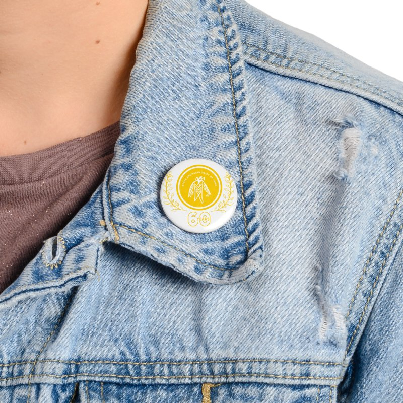 OSA 60th Anniversary Accessories Button by Iowa Archaeology Gifts, Prints, & Apparel