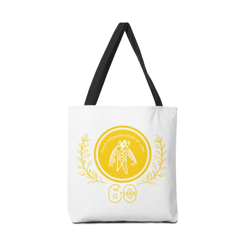 OSA 60th Anniversary Accessories Tote Bag Bag by Iowa Archaeology Gifts, Prints, & Apparel