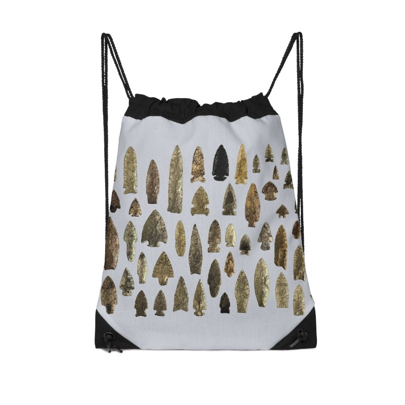 Projectile Points of Iowa Accessories Bag by Iowa Archaeology Gifts, Prints, & Apparel