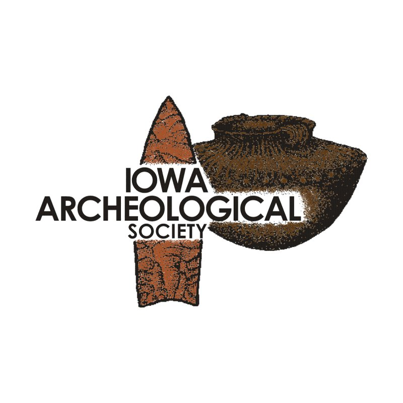 IAS Classic Logo (Color) by Iowa Archaeology Gifts, Prints, & Apparel