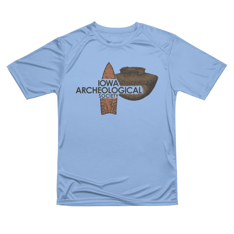 IAS Classic Logo (Color) Men's T-Shirt by Iowa Archaeology Gifts, Prints, & Apparel