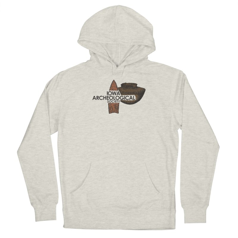 IAS Classic Logo (Color) Men's Pullover Hoody by Iowa Archaeology Gifts, Prints, & Apparel