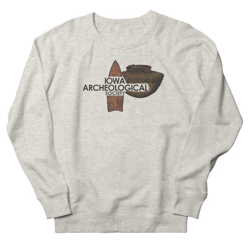 IAS Classic Logo (Color) Men's Sweatshirt by Iowa Archaeology Gifts, Prints, & Apparel