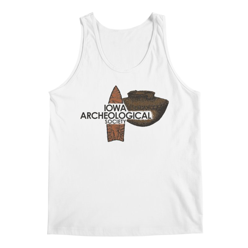 IAS Classic Logo (Color) Men's Tank by Iowa Archaeology Gifts, Prints, & Apparel