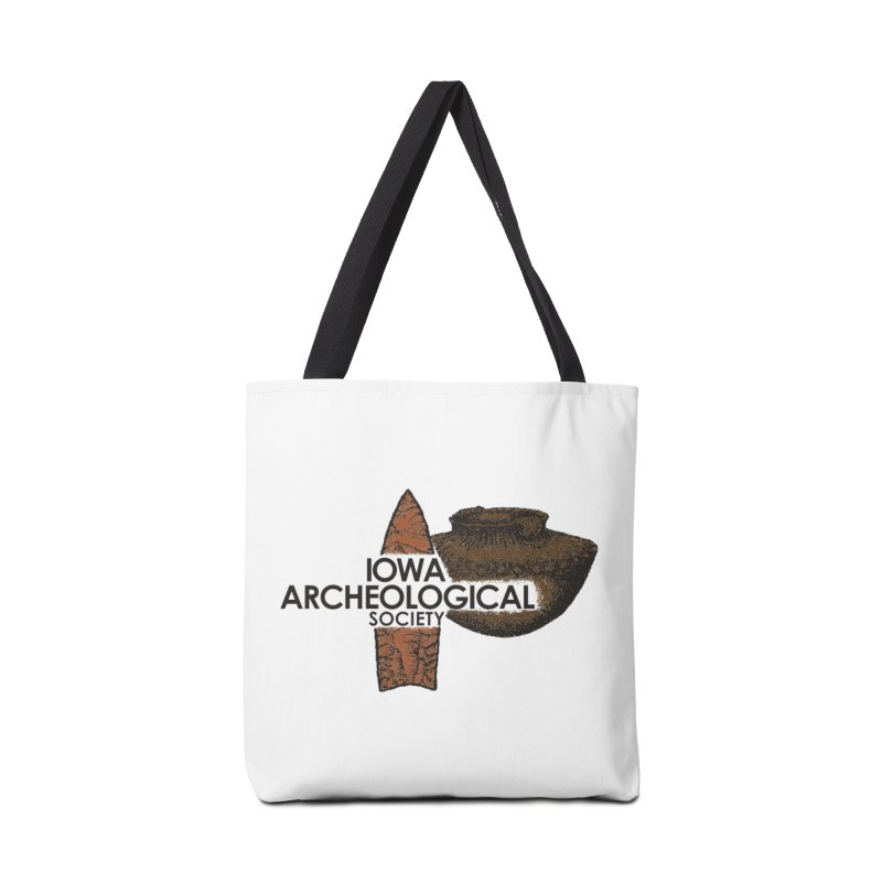 IAS Classic Logo (Color) Accessories Bag by Iowa Archaeology Gifts, Prints, & Apparel