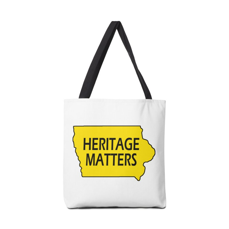 Heritage Matters (Iowa) Accessories Bag by Iowa Archaeology Gifts, Prints, & Apparel