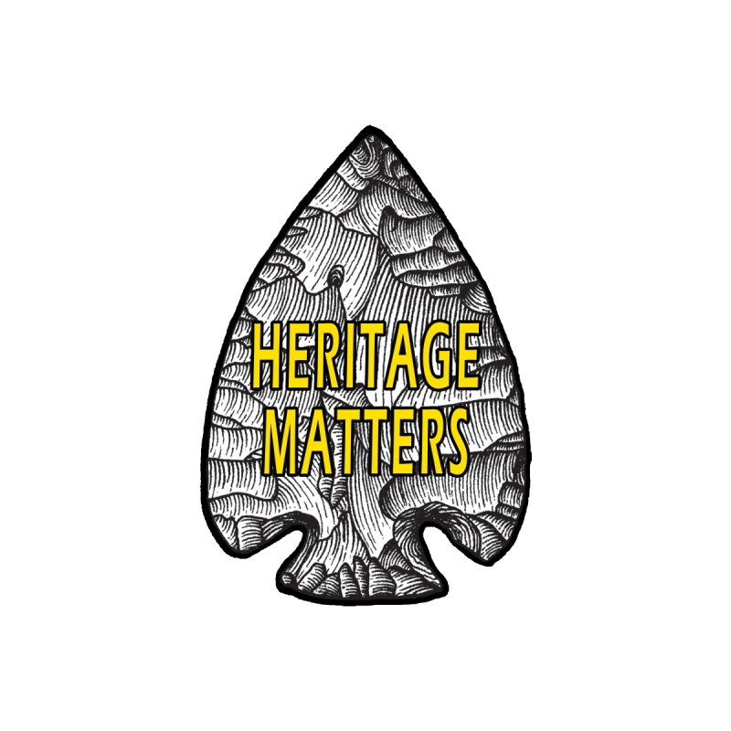 Heritage Matters Women's Scoop Neck by Iowa Archaeology Gifts, Prints, & Apparel