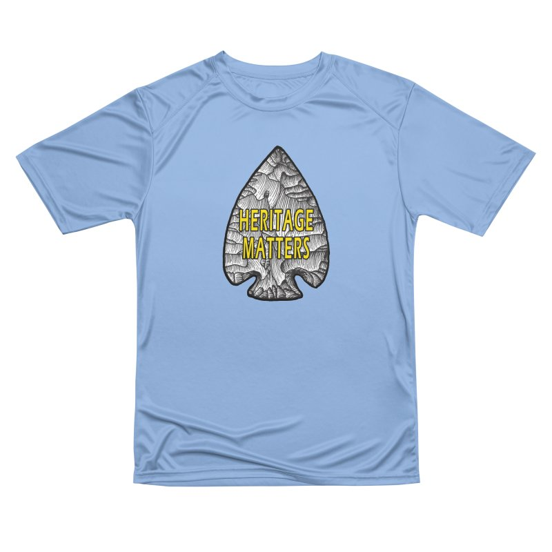 Heritage Matters Men's T-Shirt by Iowa Archaeology Gifts, Prints, & Apparel