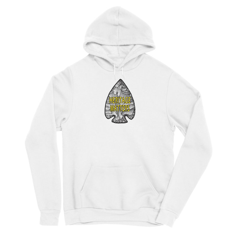 Heritage Matters Men's Pullover Hoody by Iowa Archaeology Gifts, Prints, & Apparel