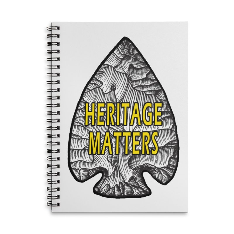 Heritage Matters Accessories Notebook by Iowa Archaeology Gifts, Prints, & Apparel
