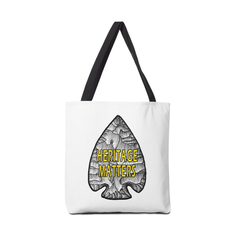 Heritage Matters Accessories Bag by Iowa Archaeology Gifts, Prints, & Apparel