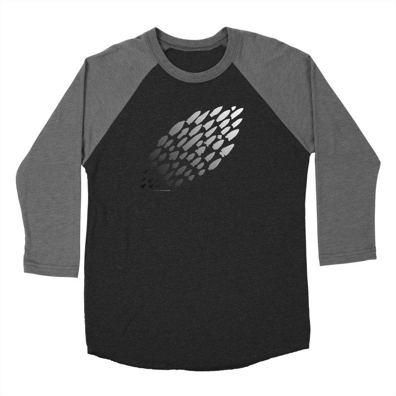Iowa Projectile Points (B/W) Women's Longsleeve T-Shirt by Iowa Archaeology Gifts, Prints, & Apparel