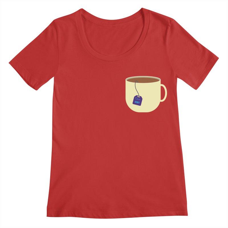 Tea shirt Women's Regular Scoop Neck by IreneL's Artist Shop