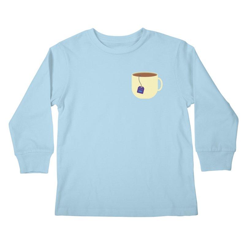 Tea shirt Kids Longsleeve T-Shirt by IreneL's Artist Shop