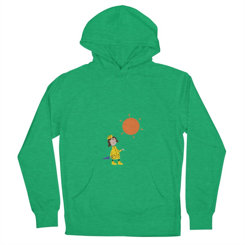 Sunny again?? (centered) Men's French Terry Pullover Hoody by IreneL's Artist Shop