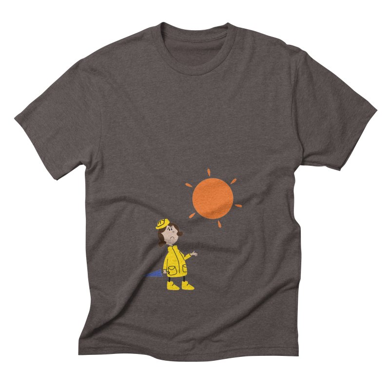 Sunny again?? (centered) Men's Triblend T-Shirt by IreneL's Artist Shop