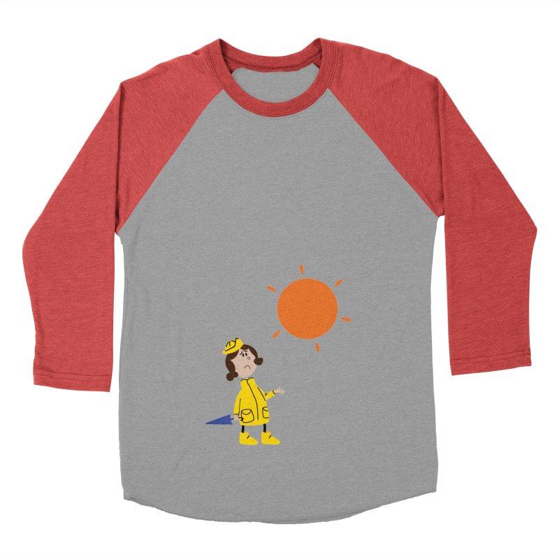Sunny again?? (centered) Women's Baseball Triblend Longsleeve T-Shirt by IreneL's Artist Shop