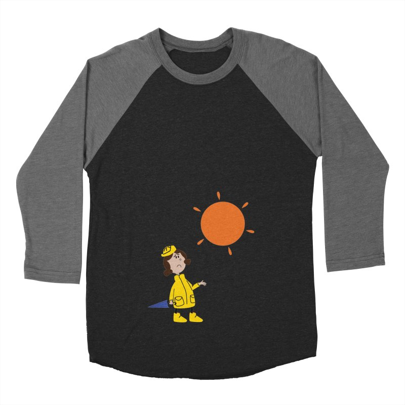 Sunny again?? (centered) Women's Baseball Triblend Longsleeve T-Shirt by IreneL's Artist Shop