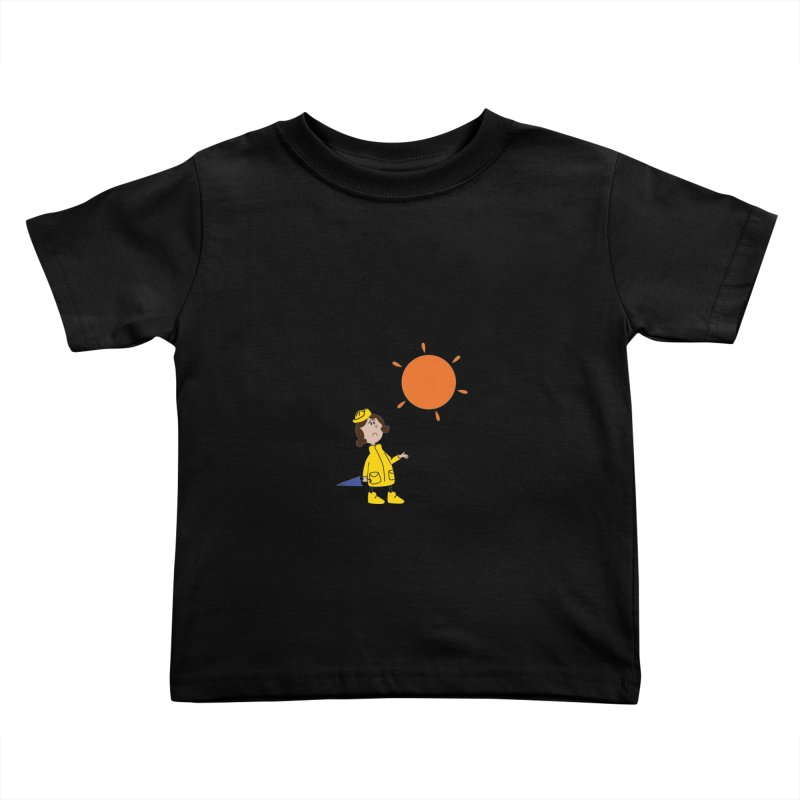 Sunny again?? (centered) Kids Toddler T-Shirt by IreneL's Artist Shop