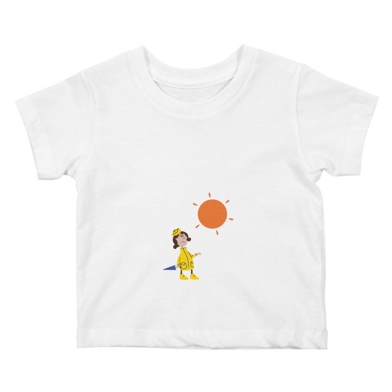 Sunny again?? (centered) Kids Baby T-Shirt by IreneL's Artist Shop