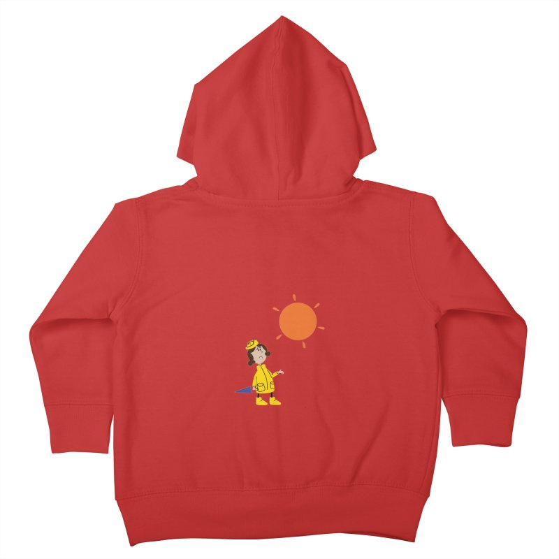 Sunny again?? (centered) Kids Toddler Zip-Up Hoody by IreneL's Artist Shop