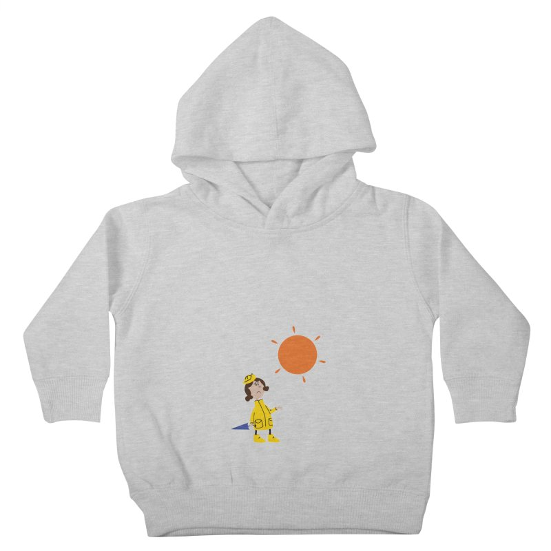Sunny again?? (centered) Kids Toddler Pullover Hoody by IreneL's Artist Shop