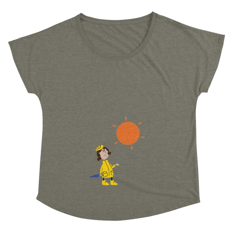 Sunny again?? (centered) Women's Dolman Scoop Neck by IreneL's Artist Shop