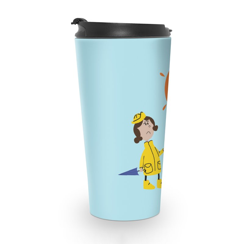 Sunny again?? (centered) Accessories Travel Mug by IreneL's Artist Shop