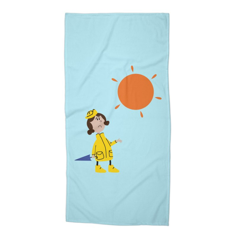 Sunny again?? (centered) Accessories Beach Towel by IreneL's Artist Shop