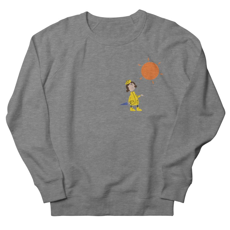 Sunny again?? Men's French Terry Sweatshirt by IreneL's Artist Shop