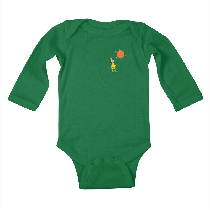 Sunny again?? Kids Baby Longsleeve Bodysuit by IreneL's Artist Shop
