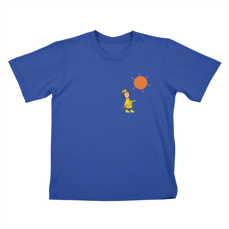 Sunny again?? Kids T-Shirt by IreneL's Artist Shop