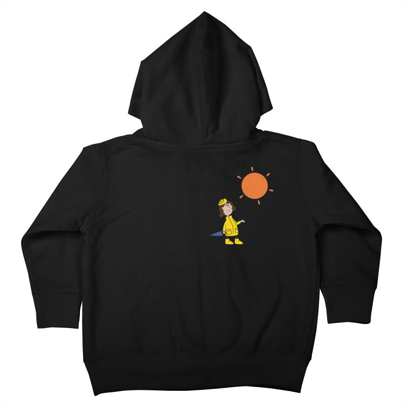Sunny again?? Kids Toddler Zip-Up Hoody by IreneL's Artist Shop