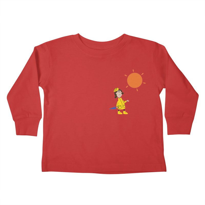 Sunny again?? Kids Toddler Longsleeve T-Shirt by IreneL's Artist Shop