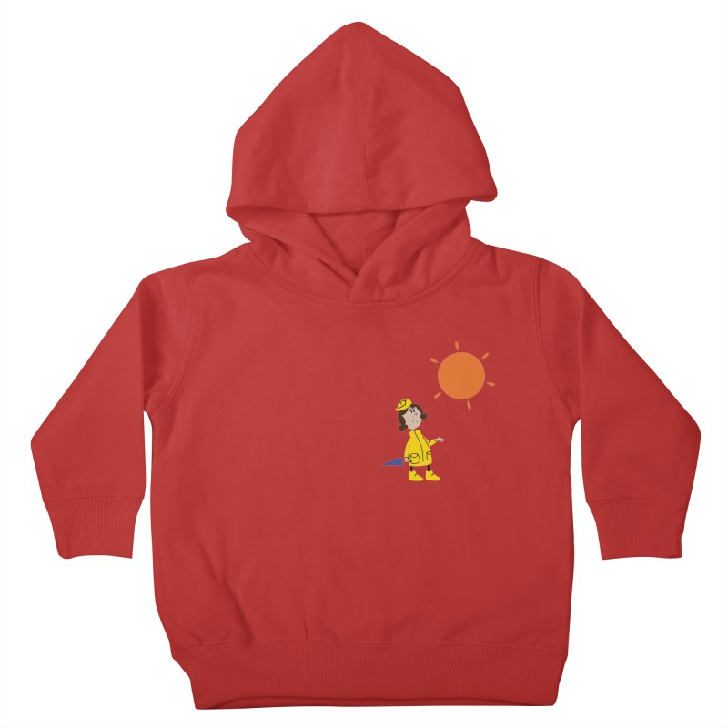 Sunny again?? Kids Toddler Pullover Hoody by IreneL's Artist Shop