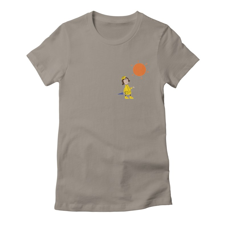Sunny again?? Women's Fitted T-Shirt by IreneL's Artist Shop