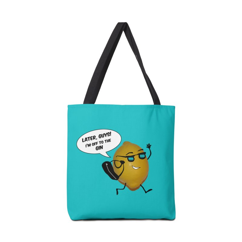 Off to the gin Accessories Tote Bag Bag by IreneL's Artist Shop
